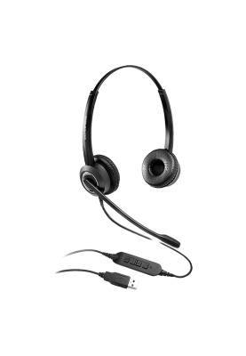 Grandstream GUV3000 HD USB Headset with Noise Canceling Mic