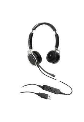 Grandstream GUV3005 HD USB Headset with Noise Canceling Mic